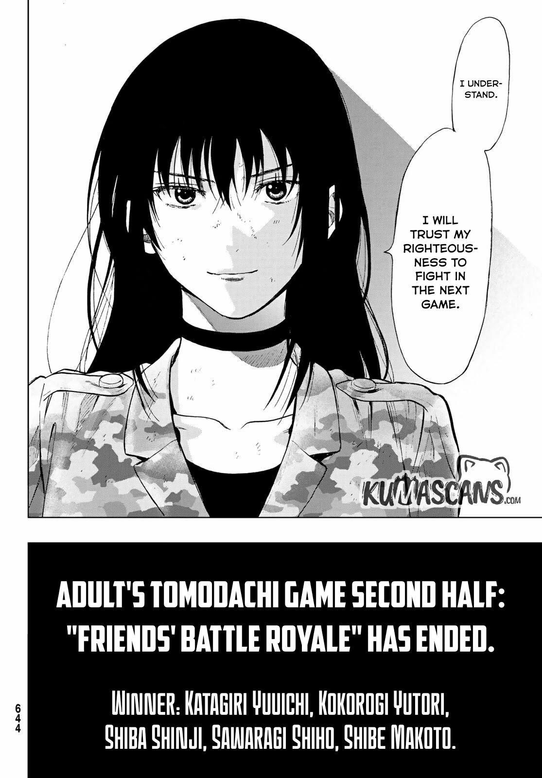 Tomodachi Game Chapter 87 page 17 - Mangakakalots.com