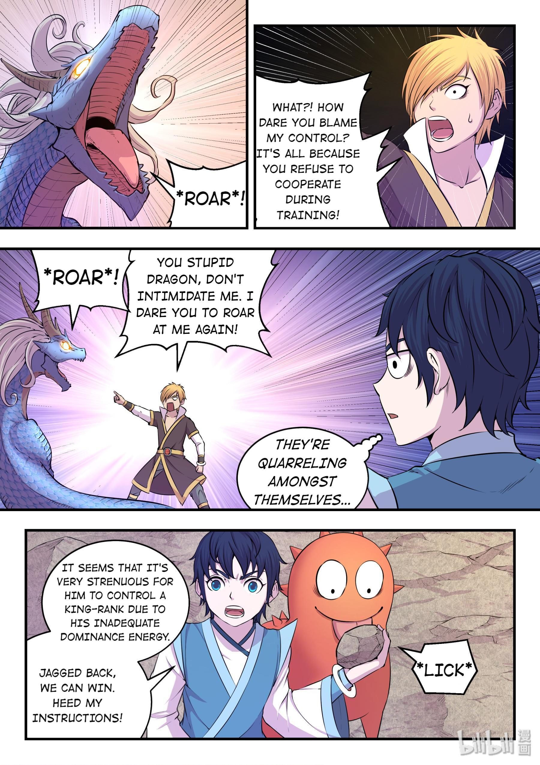 The All-Devouring Whale Chapter 25: King-Rank Spirit Monster page 11 - Mangakakalots.com