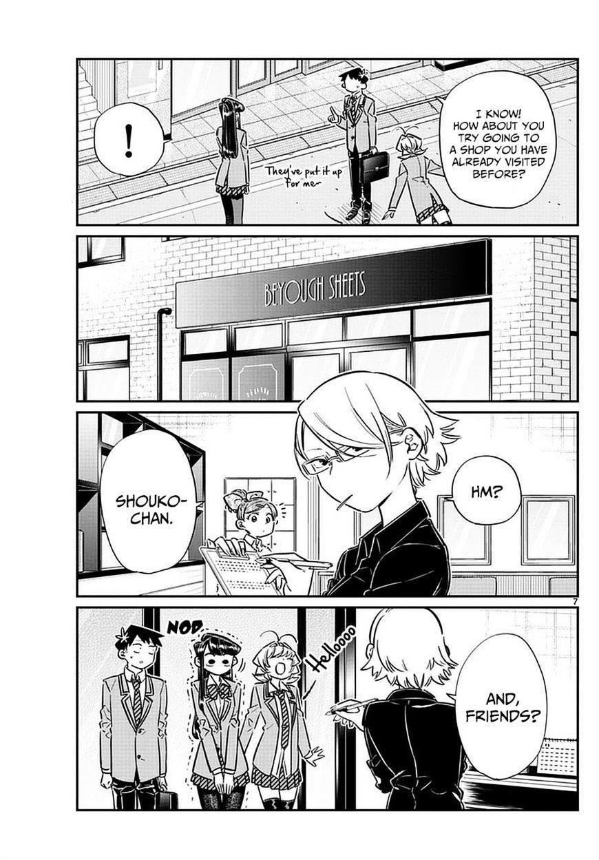 Komi-San Wa Komyushou Desu Vol.5 Chapter 65: Flier Distribution page 7 - Mangakakalot