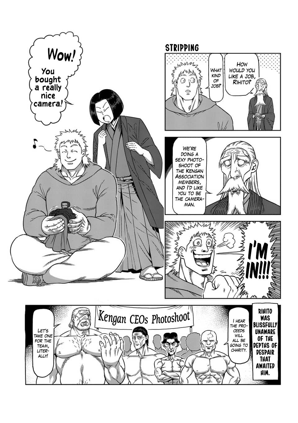 Kengan Ashua Chapter 236.5: 4-Panel Extras (6) page 19 - Mangakakalot