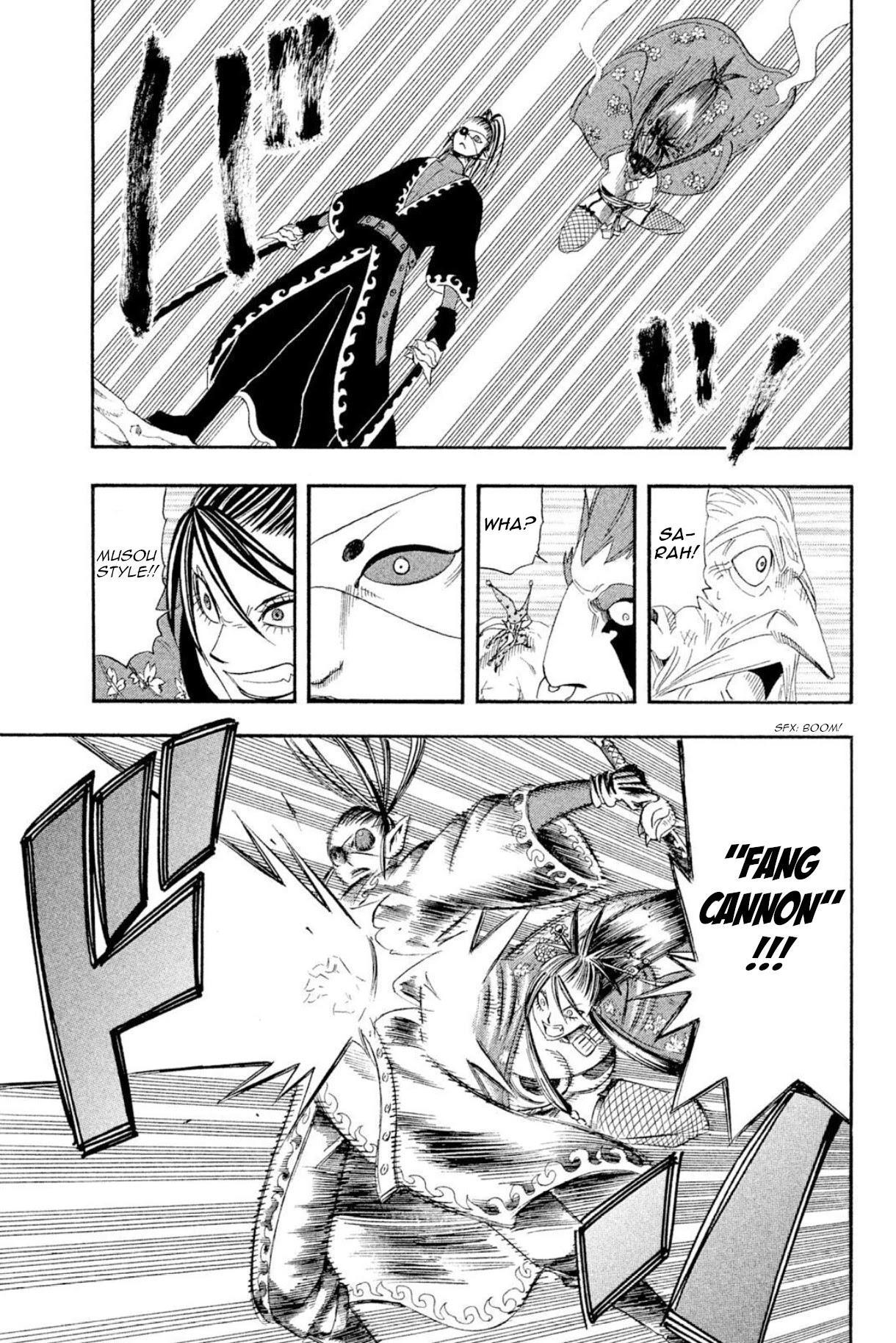 Buster Keel! Chapter 37: Feast Of God (Part 2) page 36 - Mangakakalots.com