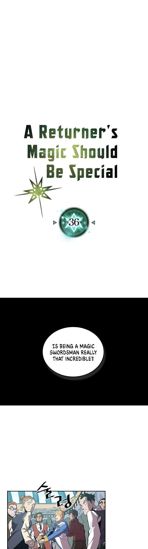 A Returner's Magic Should Be Special Chapter 36 page 1 - Mangakakalots.com