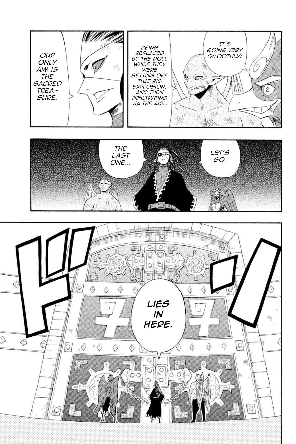 Buster Keel! Chapter 37: Feast Of God (Part 2) page 40 - Mangakakalots.com