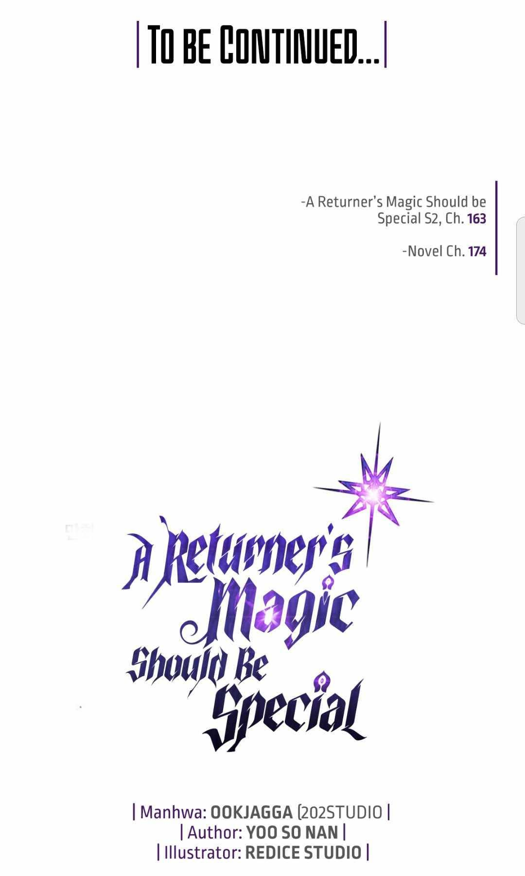 A Returner's Magic Should Be Special Chapter 163 page 104 - Mangakakalot