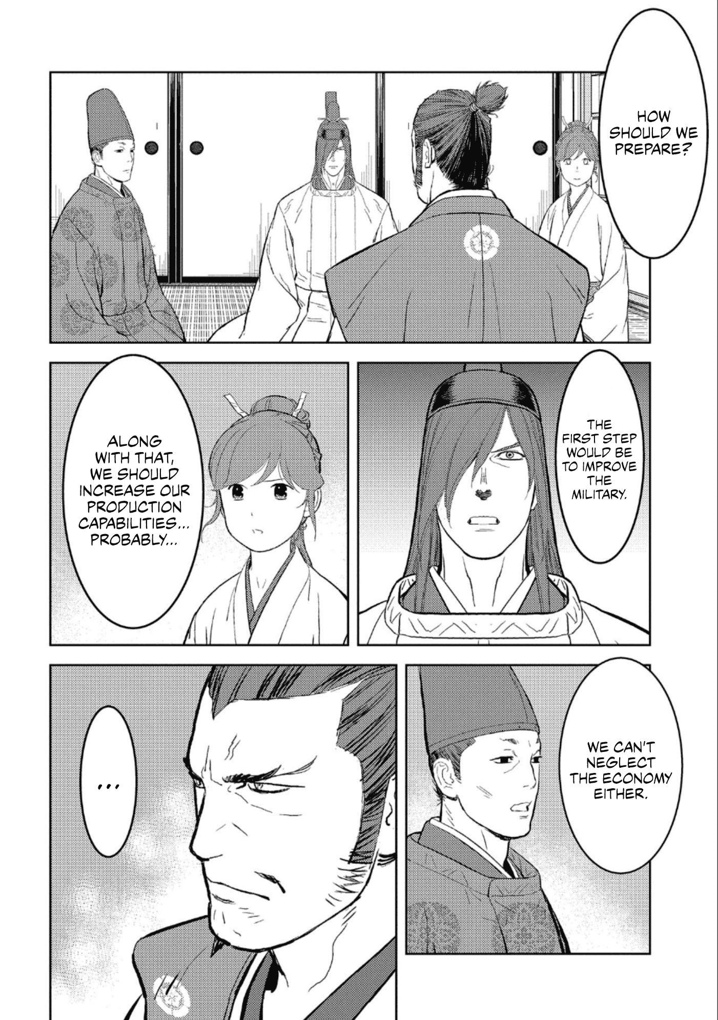Sengoku Komachi Kurou Tan! Chapter 41 page 7 - Mangakakalots.com