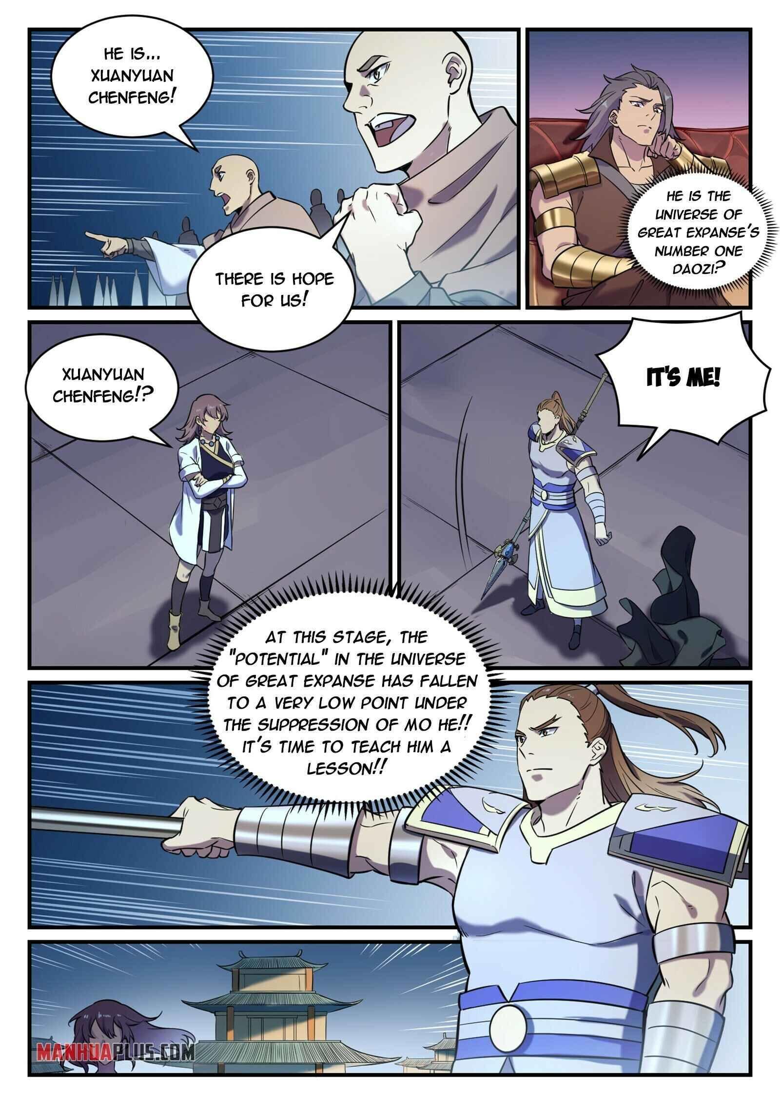 Apotheosis Chapter 805 page 4 - Mangakakalot