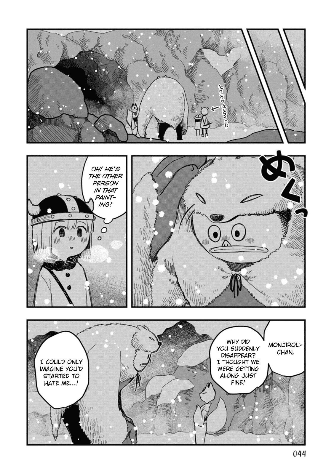 Rojica To Rakkasei Chapter 19: The Mystery Of The Snowy Mountain page 28 - Mangakakalots.com