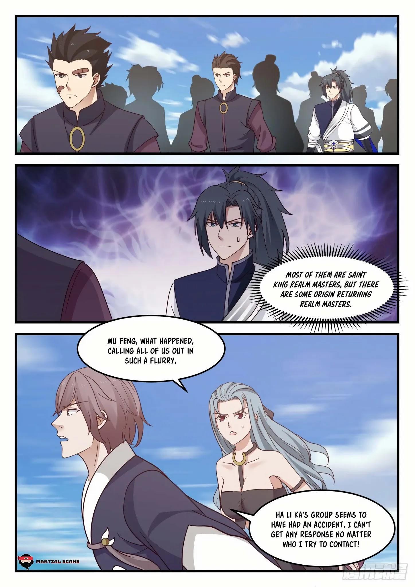 Martial Peak Chapter 934: Ancient Ruins page 12 - Mangakakalots.com
