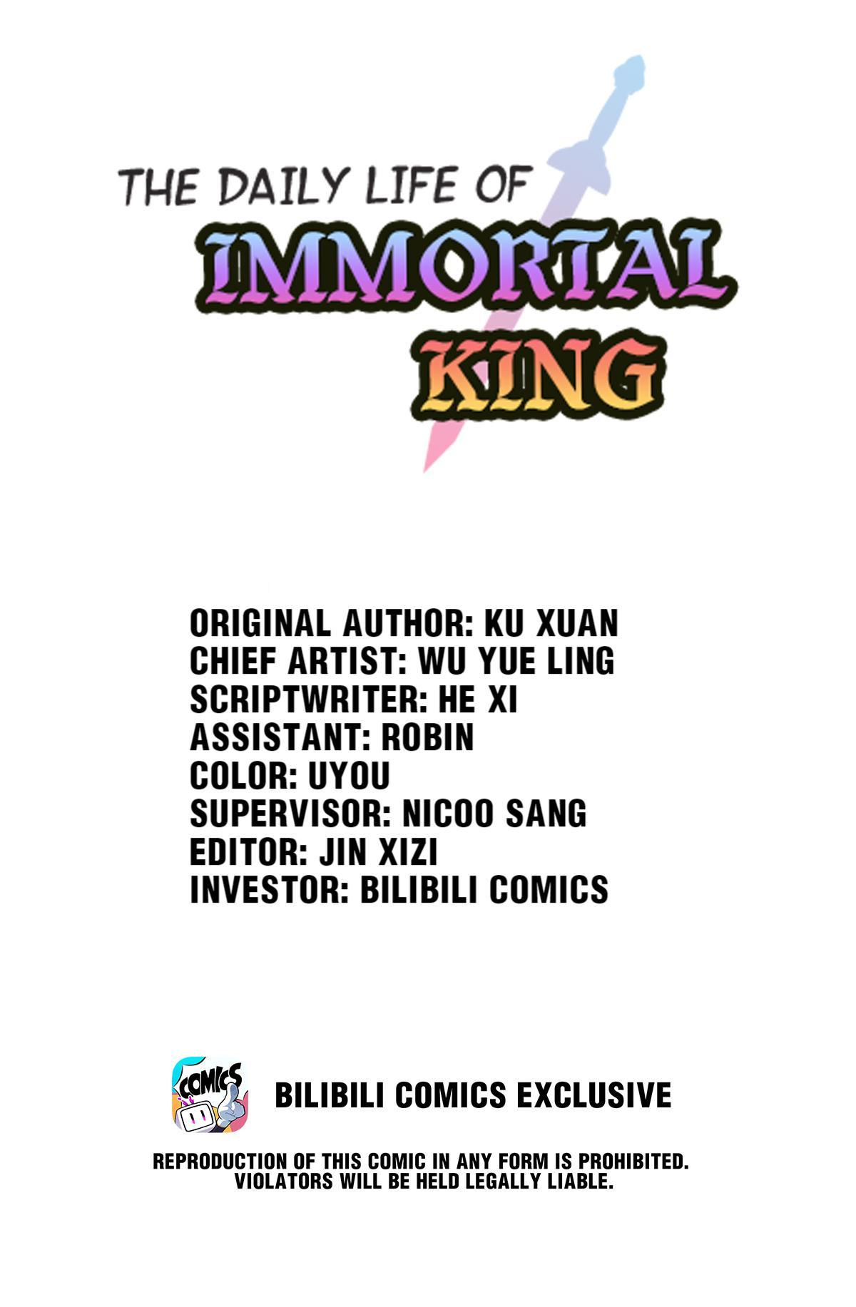 The Daily Life Of Immortal King Chapter 32: The Coolest Dance, The Coolest Guy page 1 - Mangakakalots.com