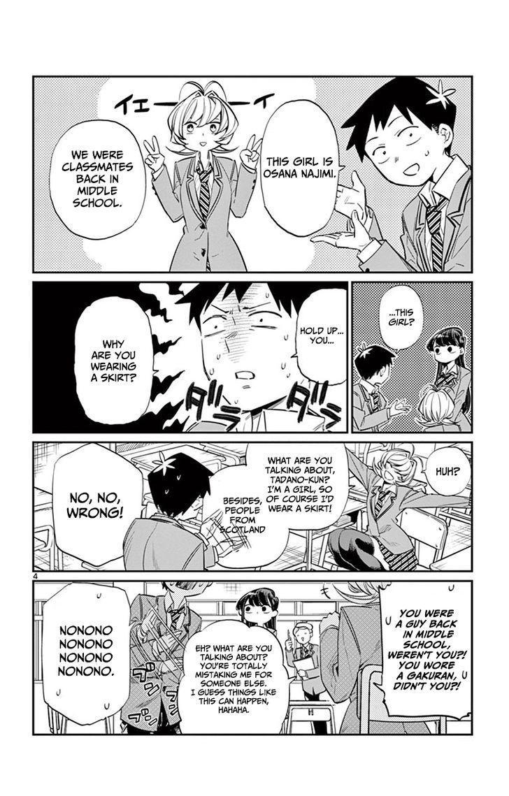 Komi-San Wa Komyushou Desu Vol.1 Chapter 9: Childhood Friend page 4 - Mangakakalot