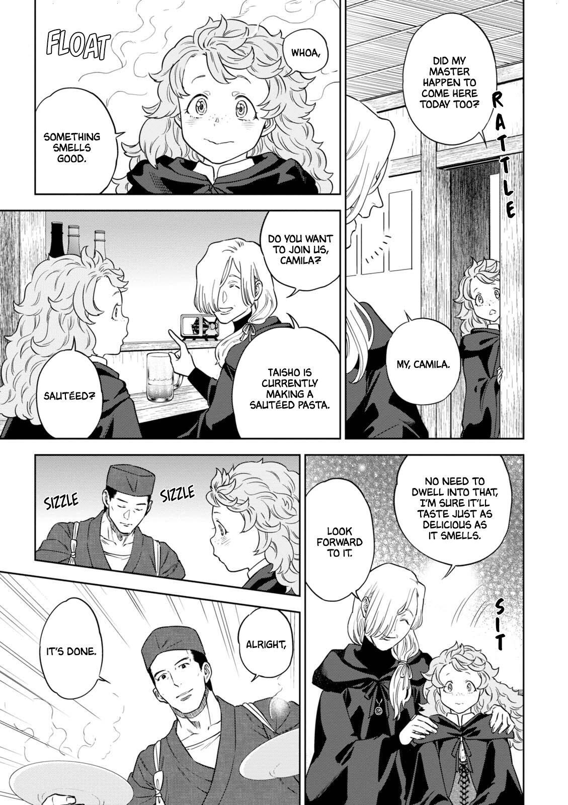 Isekai Izakaya Vol.6 Chapter 35: Mushroom Ajillo page 22 - Mangakakalots.com