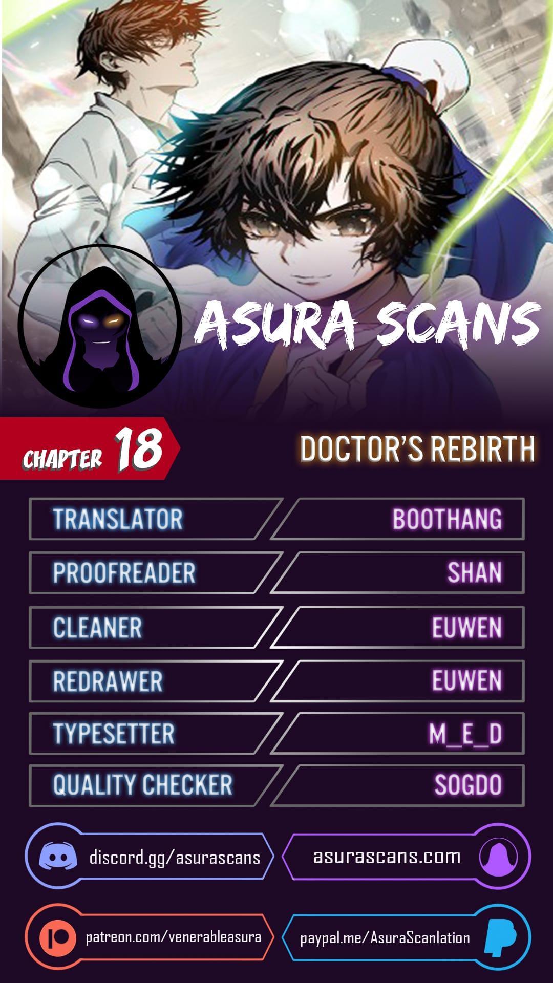 Doctor'S Rebirth Chapter 18 page 1 - Mangakakalots.com