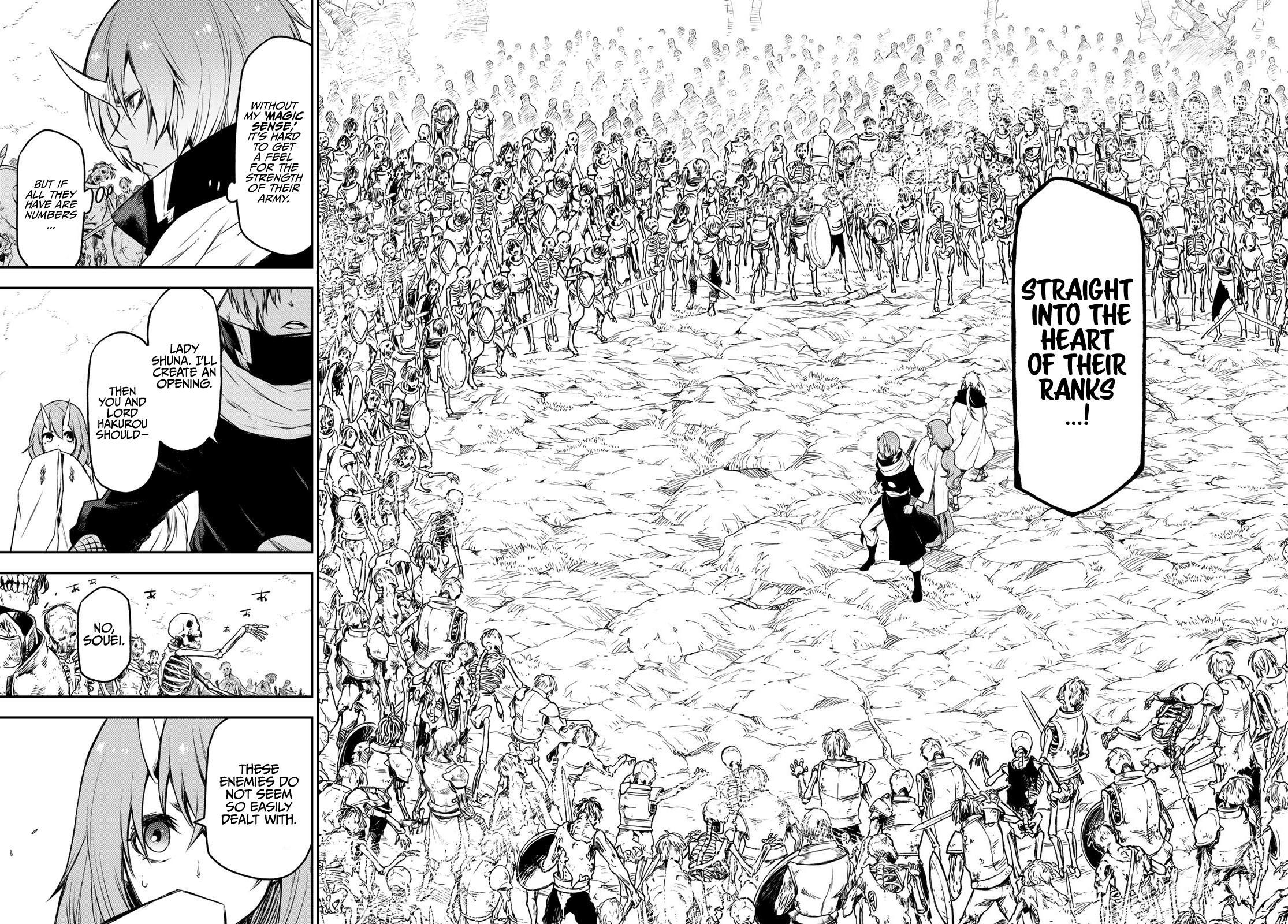 Tensei Shitara Slime Datta Ken Chapter 81: The Wight King page 32 - Mangakakalots.com