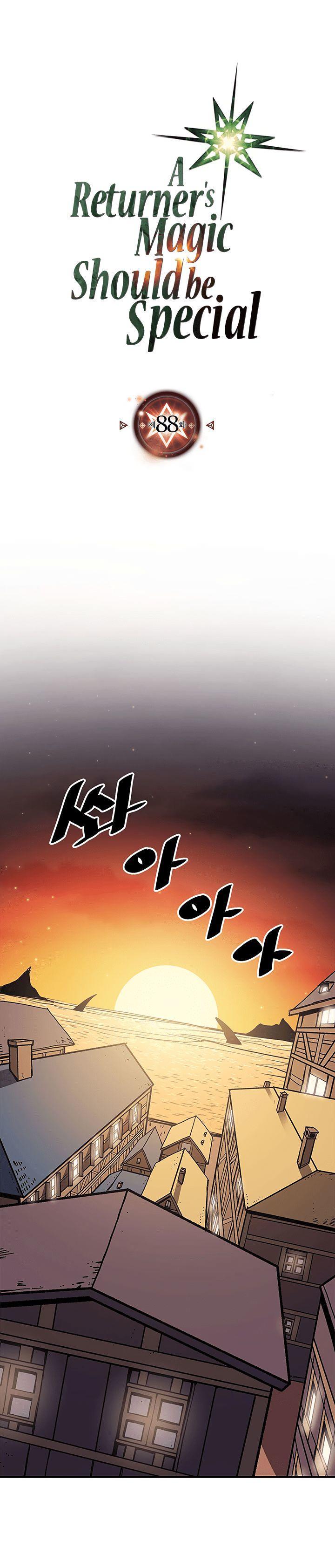 A Returner's Magic Should Be Special Chapter 88 page 1 - Mangakakalots.com