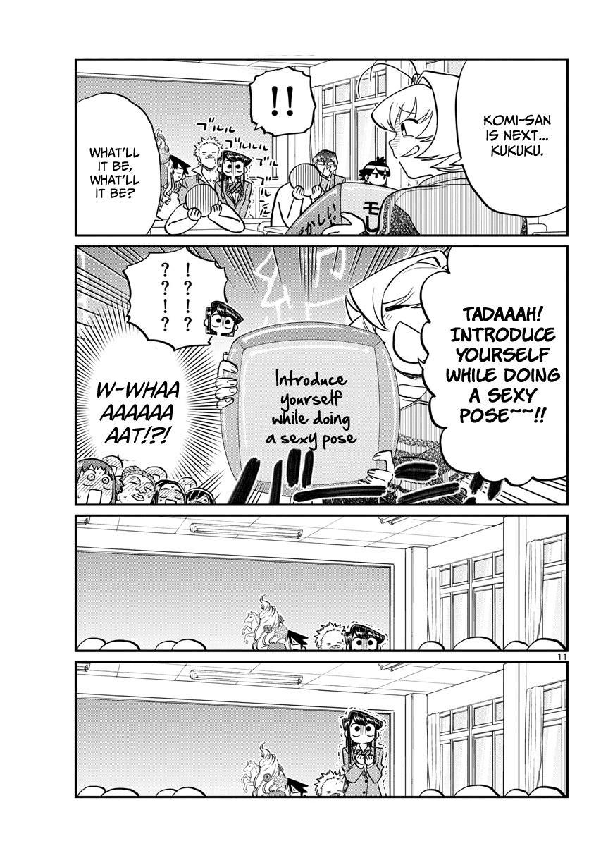 Komi-San Wa Komyushou Desu Vol.10 Chapter 130: New Class page 11 - Mangakakalot