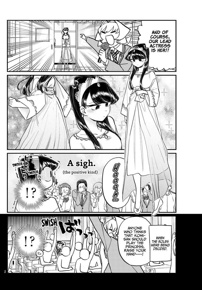 Komi-San Wa Komyushou Desu Chapter 221: Practice For The Culture Festival. page 2 - Mangakakalot