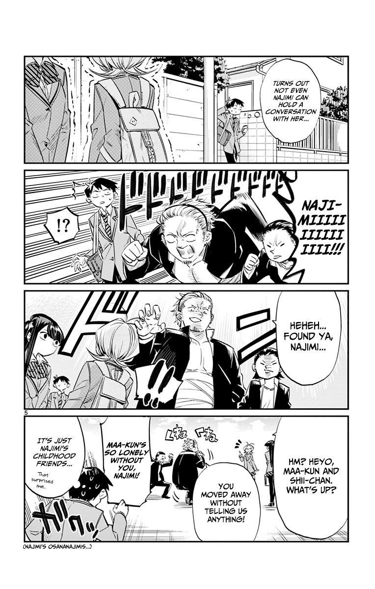 Komi-San Wa Komyushou Desu Vol.1 Chapter 11: I'm Not An Assassin! page 6 - Mangakakalot