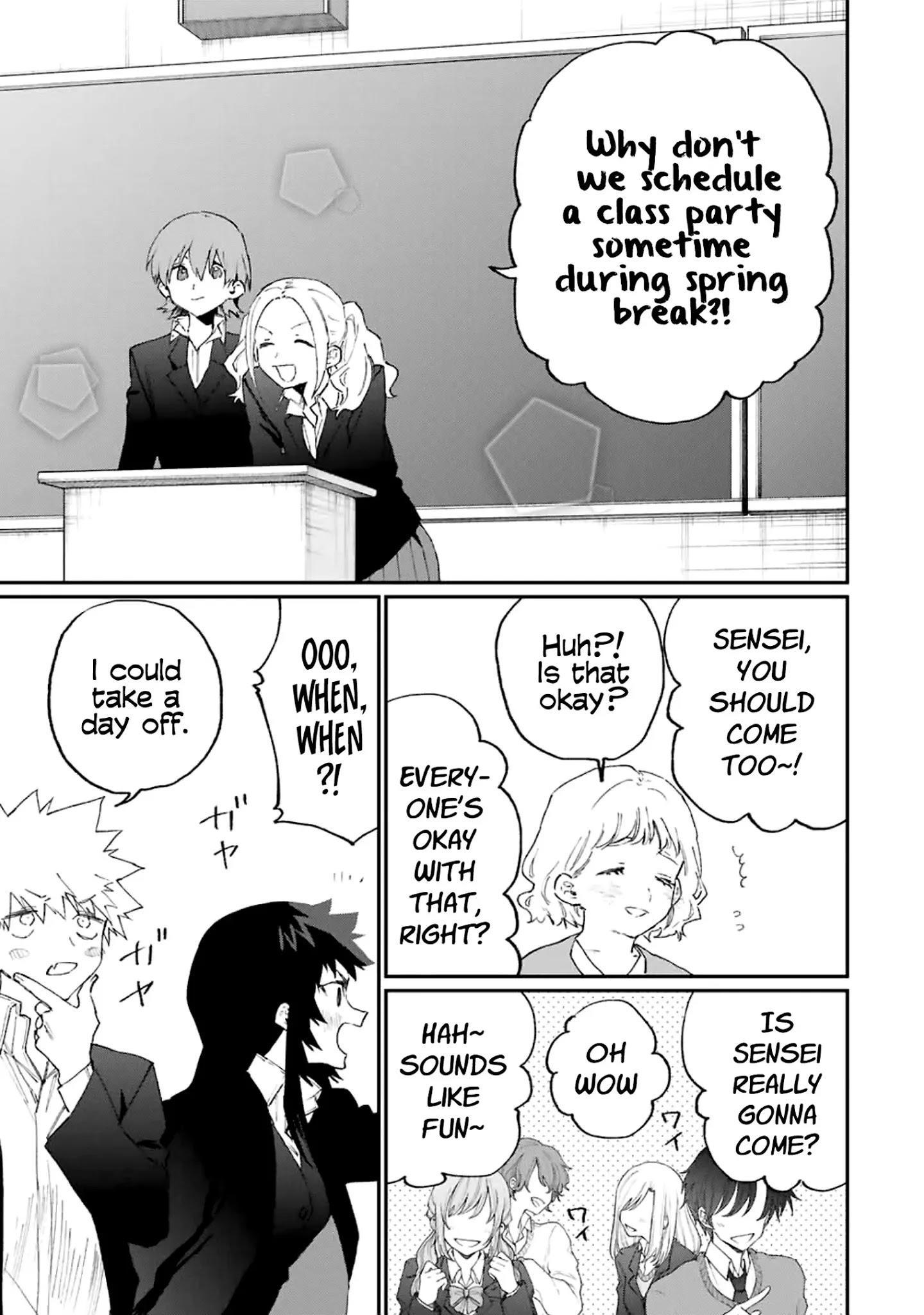 Shikimori's Not Just A Cutie Chapter 115 page 10 - Mangakakalots.com