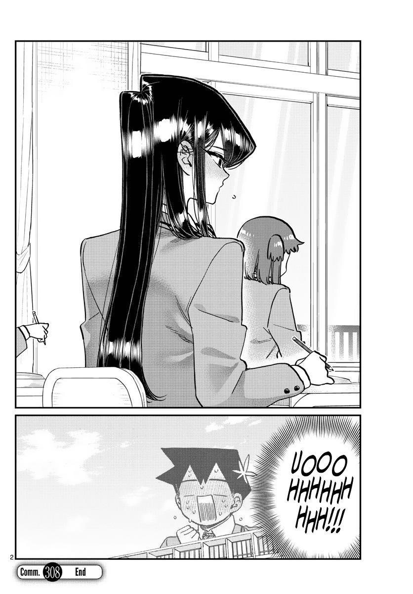 Komi-San Wa Komyushou Desu Chapter 308: Eye Contact page 2 - Mangakakalot