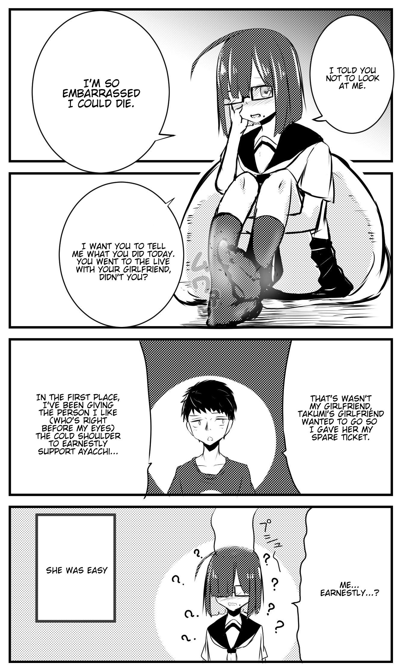 A Story About Wanting To Commit Suicide, But It's Scary So I Find A Yandere Girl To Kill Me, But It Doesn't Work Chapter 36 page 1 - Mangakakalots.com
