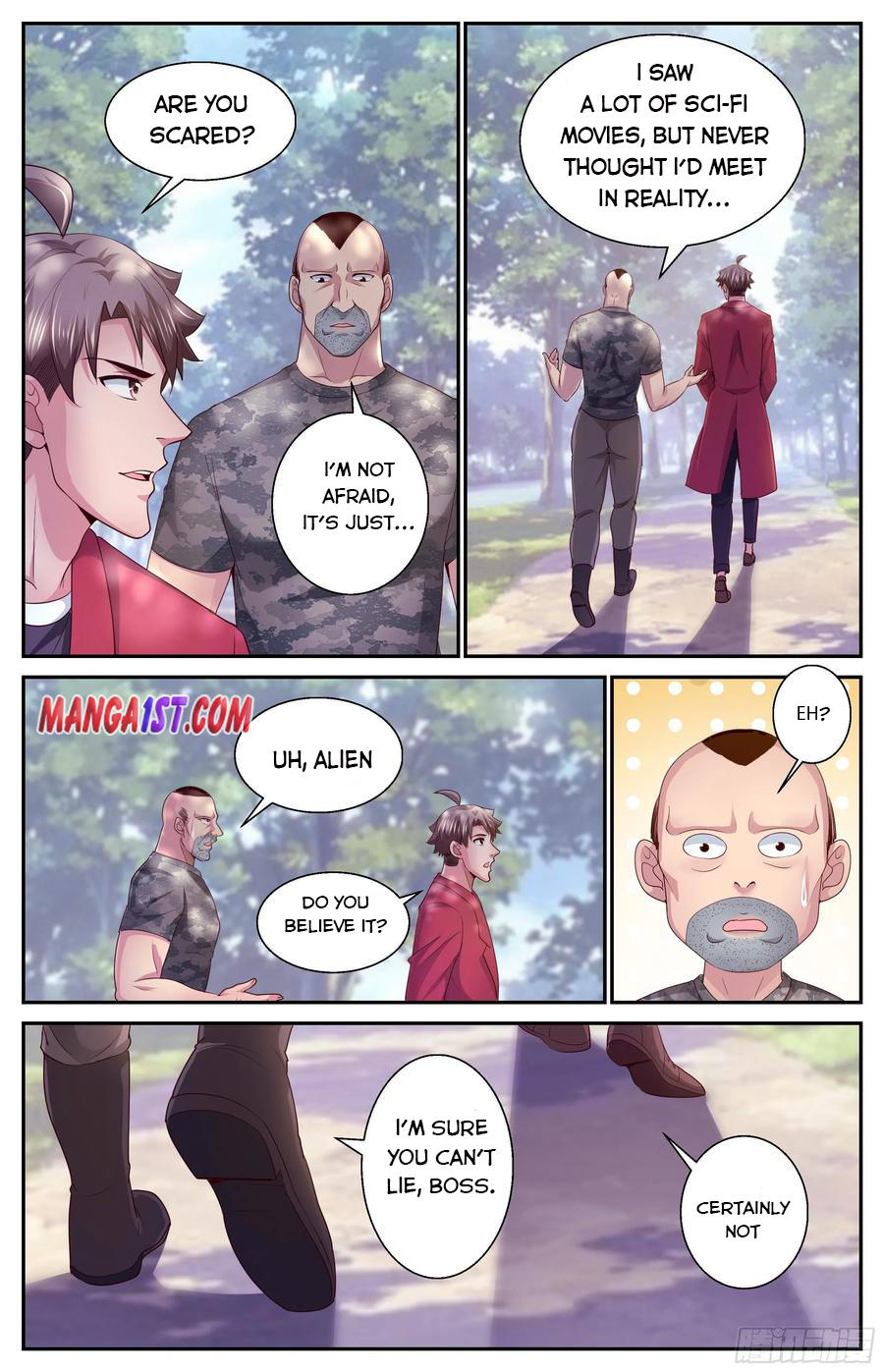 I Have A Mansion In The Post-Apocalyptic World Chapter 380 page 9 - Mangakakalots.com