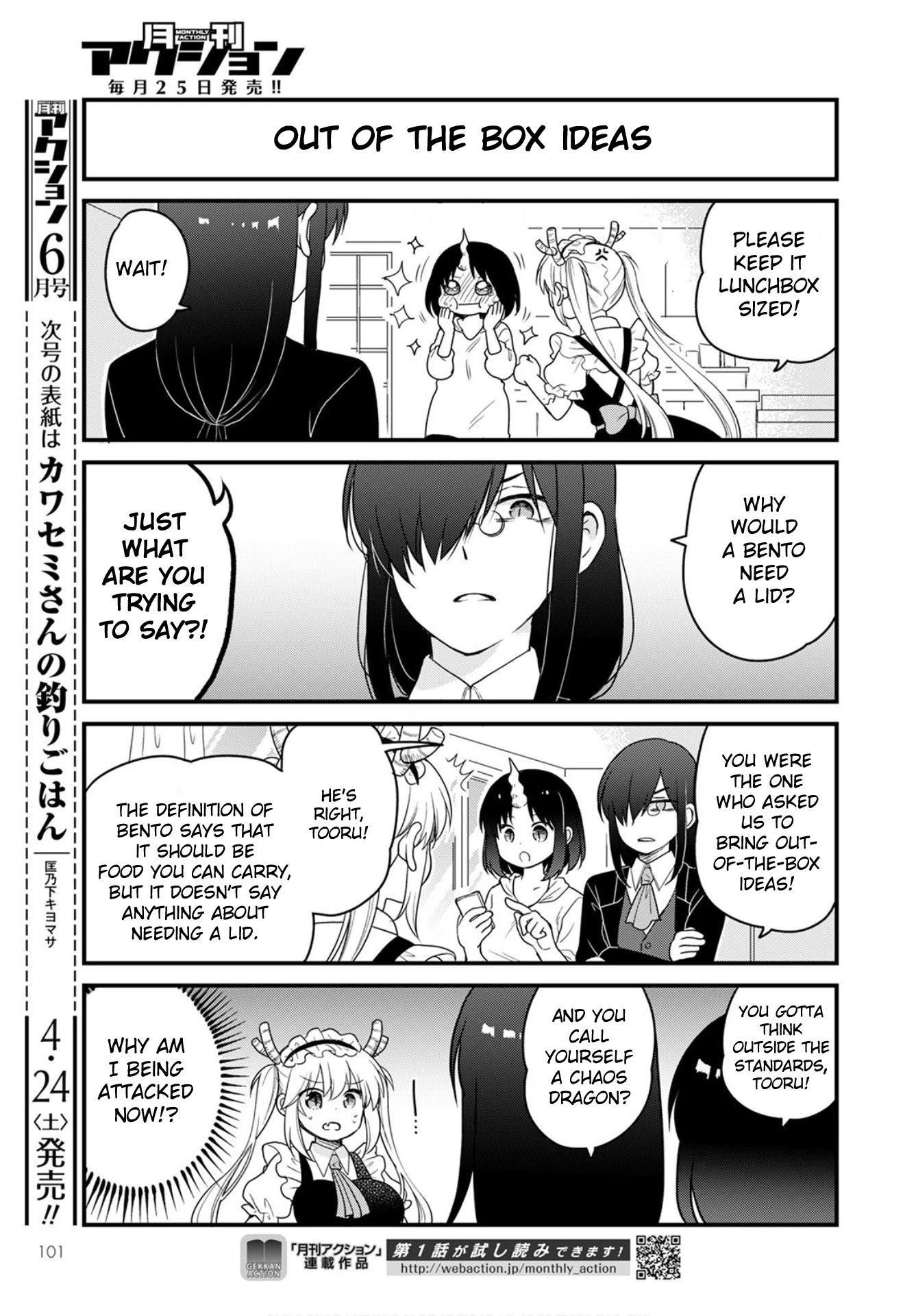 Kobayashi-San Chi No Maid Dragon: Elma Ol Nikki Chapter 45 page 7 - Mangakakalots.com