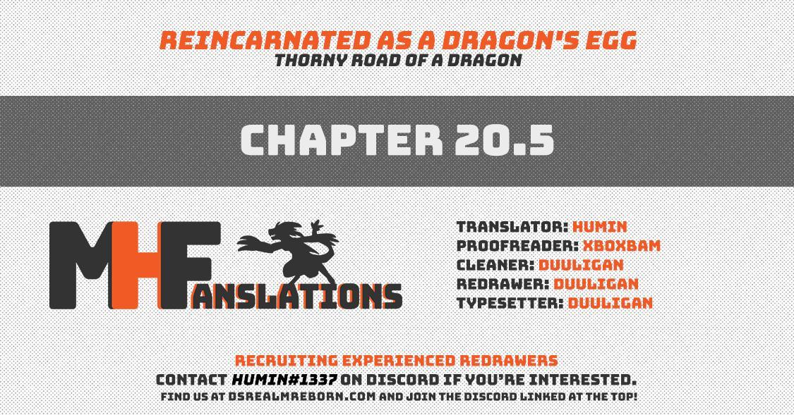 Tensei Shitara Dragon No Tamago Datta - Saikyou Igai Mezasa Nee Chapter 20.5 page 1 - Mangakakalots.com