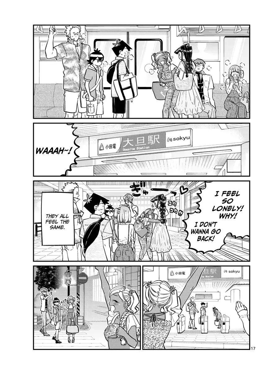 Komi-San Wa Komyushou Desu Vol.12 Chapter 165: Boyfriend page 17 - Mangakakalot