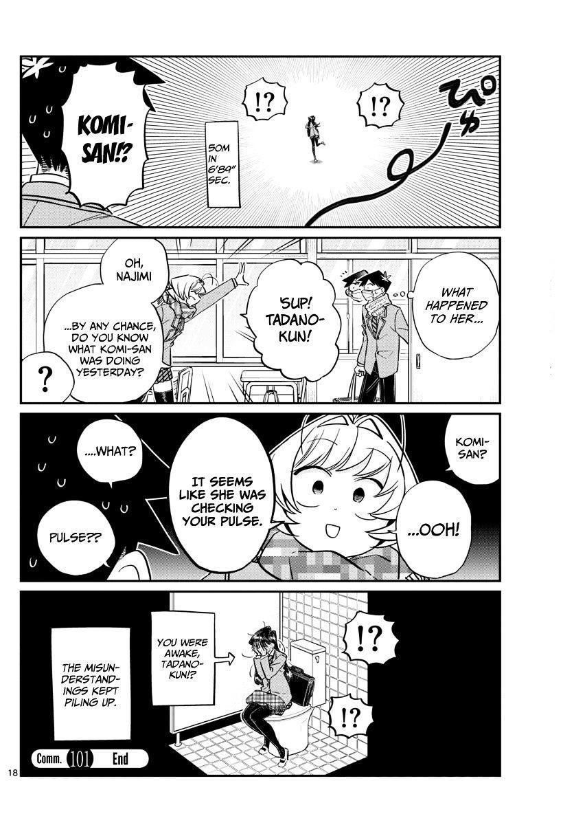 Komi-San Wa Komyushou Desu Vol.8 Chapter 101: Hallucination? page 9 - Mangakakalot