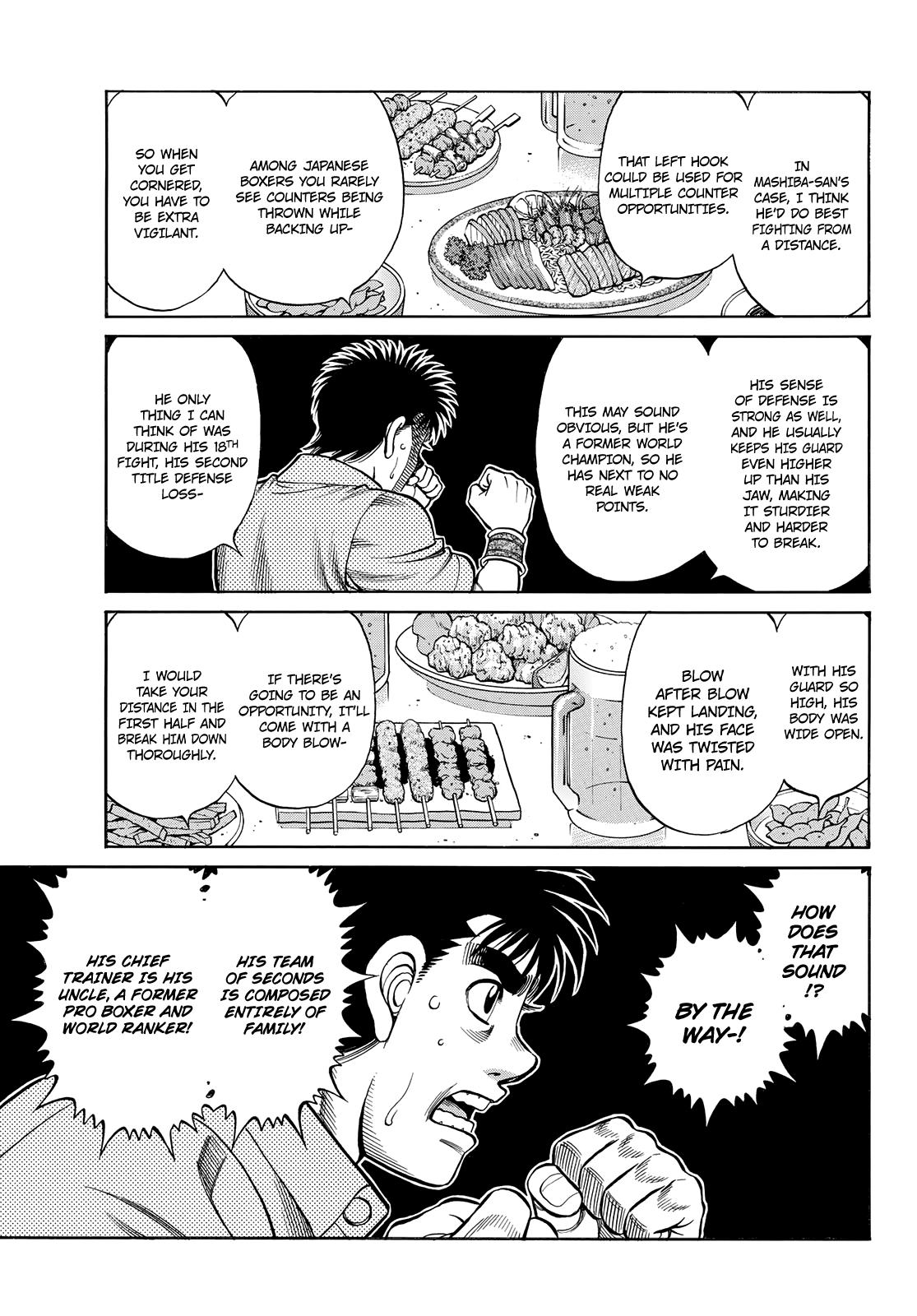 Hajime No Ippo Chapter 1352: Encouragement Party page 7 - Mangakakalot