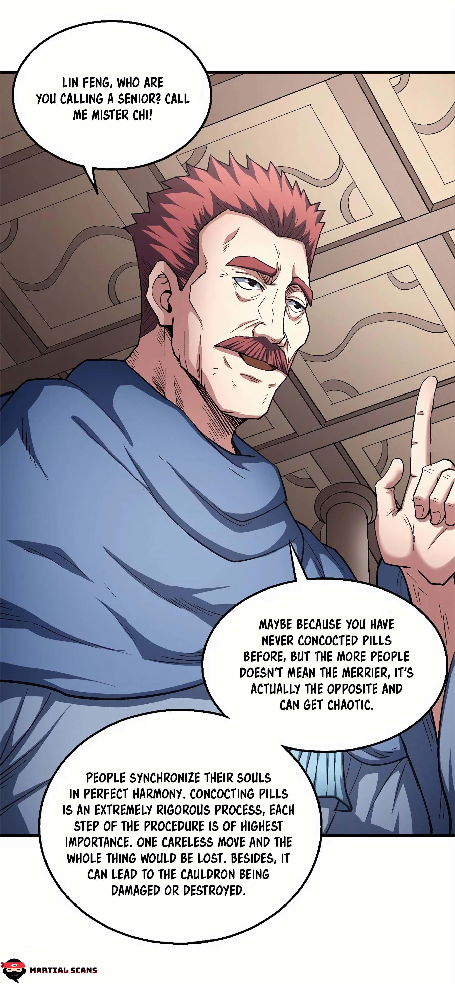 God Of Martial Arts Chapter 127.3: Mister Chi page 7 - Mangakakalots.com