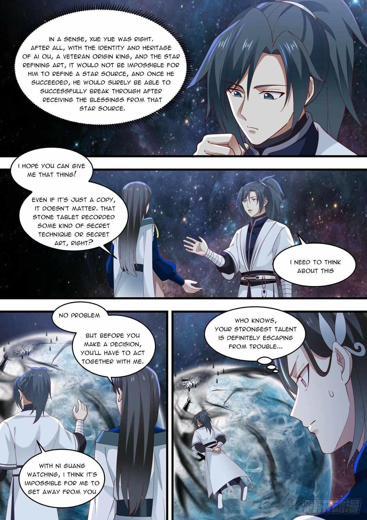 Martial Peak Chapter 1452 page 4 - Mangakakalots.com