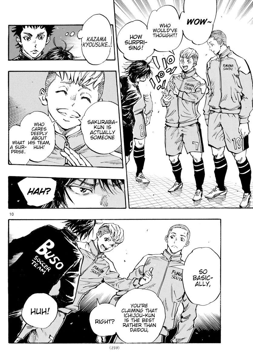 Be Blues ~Ao Ni Nare~ Chapter 455: Settling Scores page 10 - Mangakakalots.com