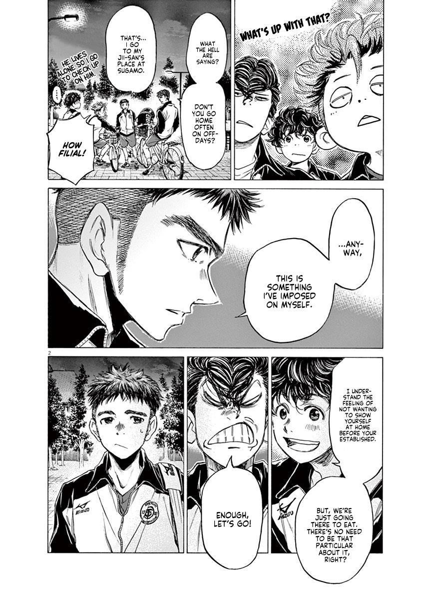 Ao Ashi Vol.8 Chapter 74: At The Entrance Of Mitaka Station (1) page 3 - Mangakakalots.com