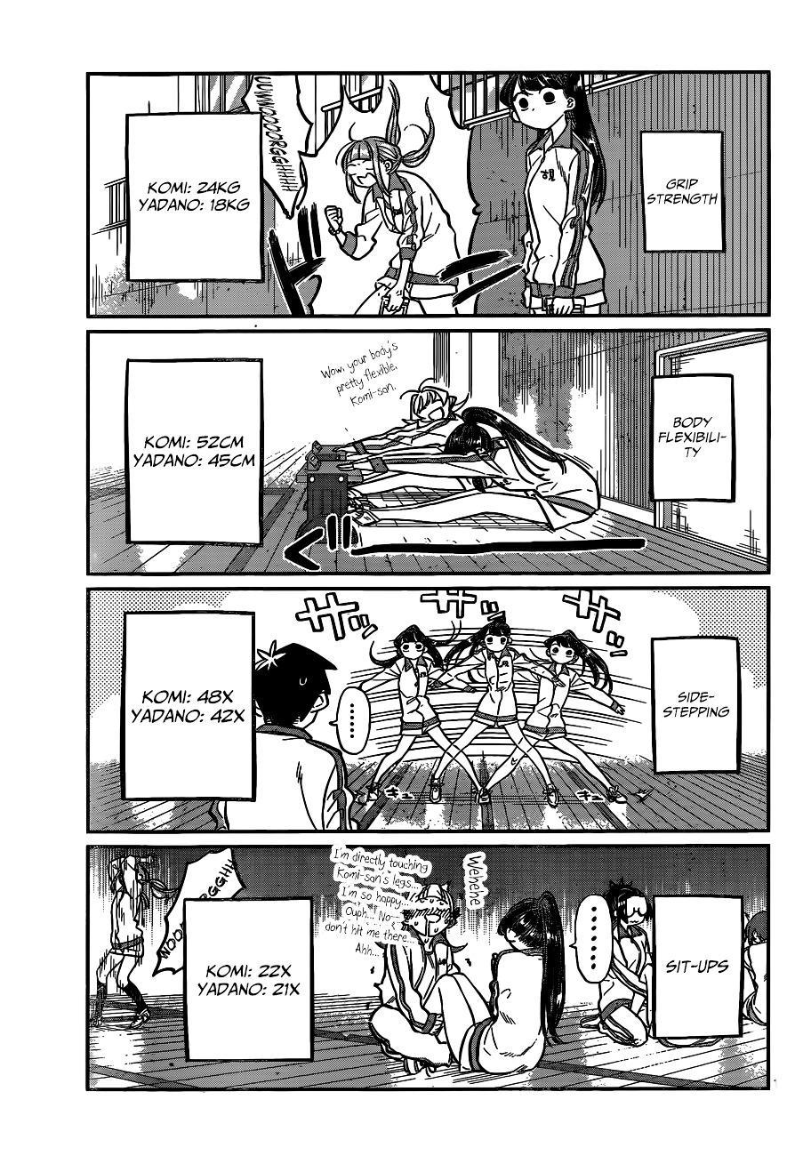 Komi-San Wa Komyushou Desu Vol.2 Chapter 21: Fitness Examination page 3 - Mangakakalot