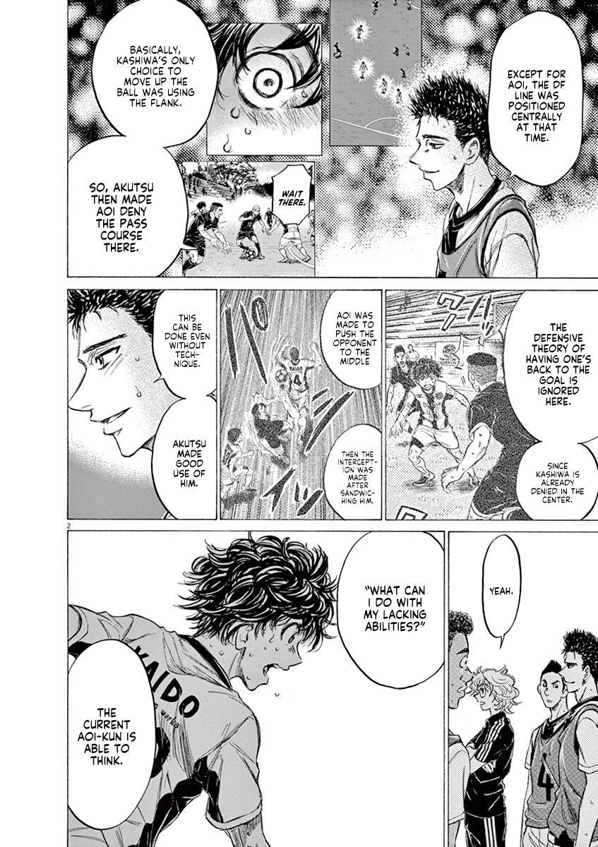 Ao Ashi Vol.13 Chapter 133: L page 3 - Mangakakalots.com