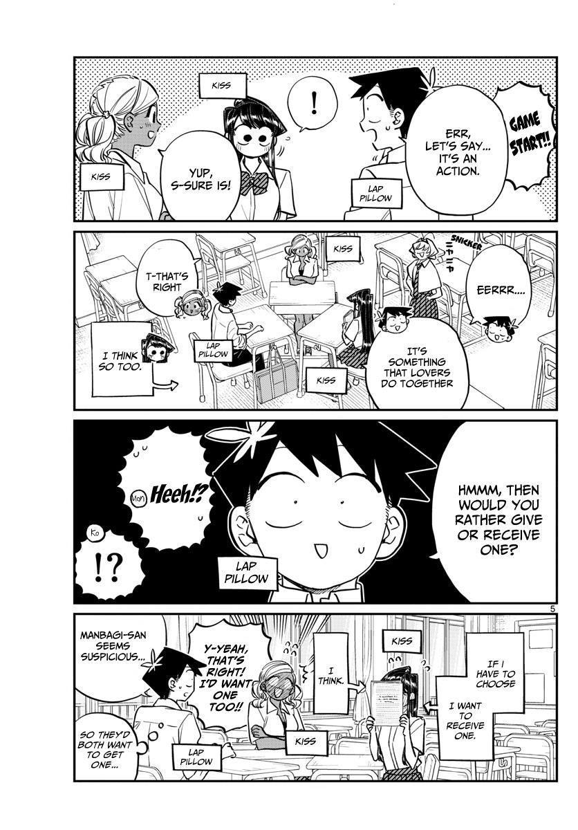 Komi-San Wa Komyushou Desu Vol.11 Chapter 152: Wolf page 5 - Mangakakalot
