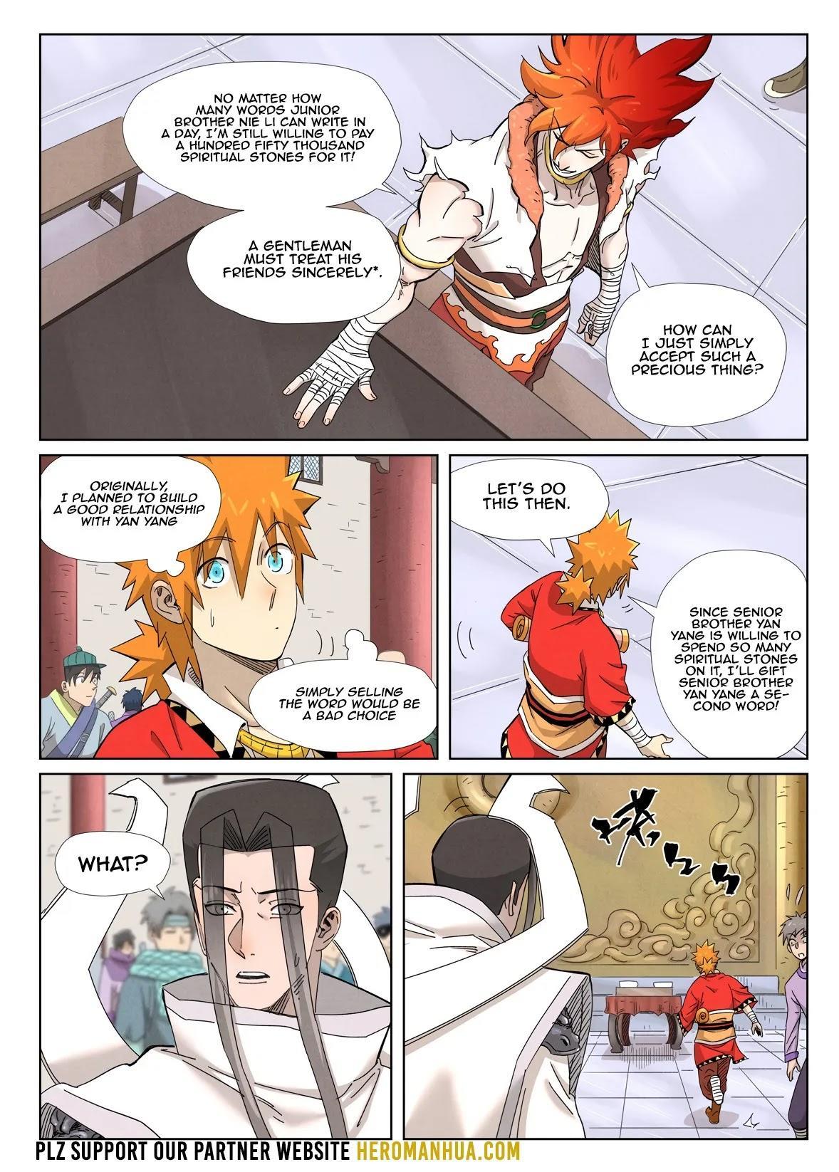 Tales Of Demons And Gods Chapter 342.1 page 6 - Mangakakalot