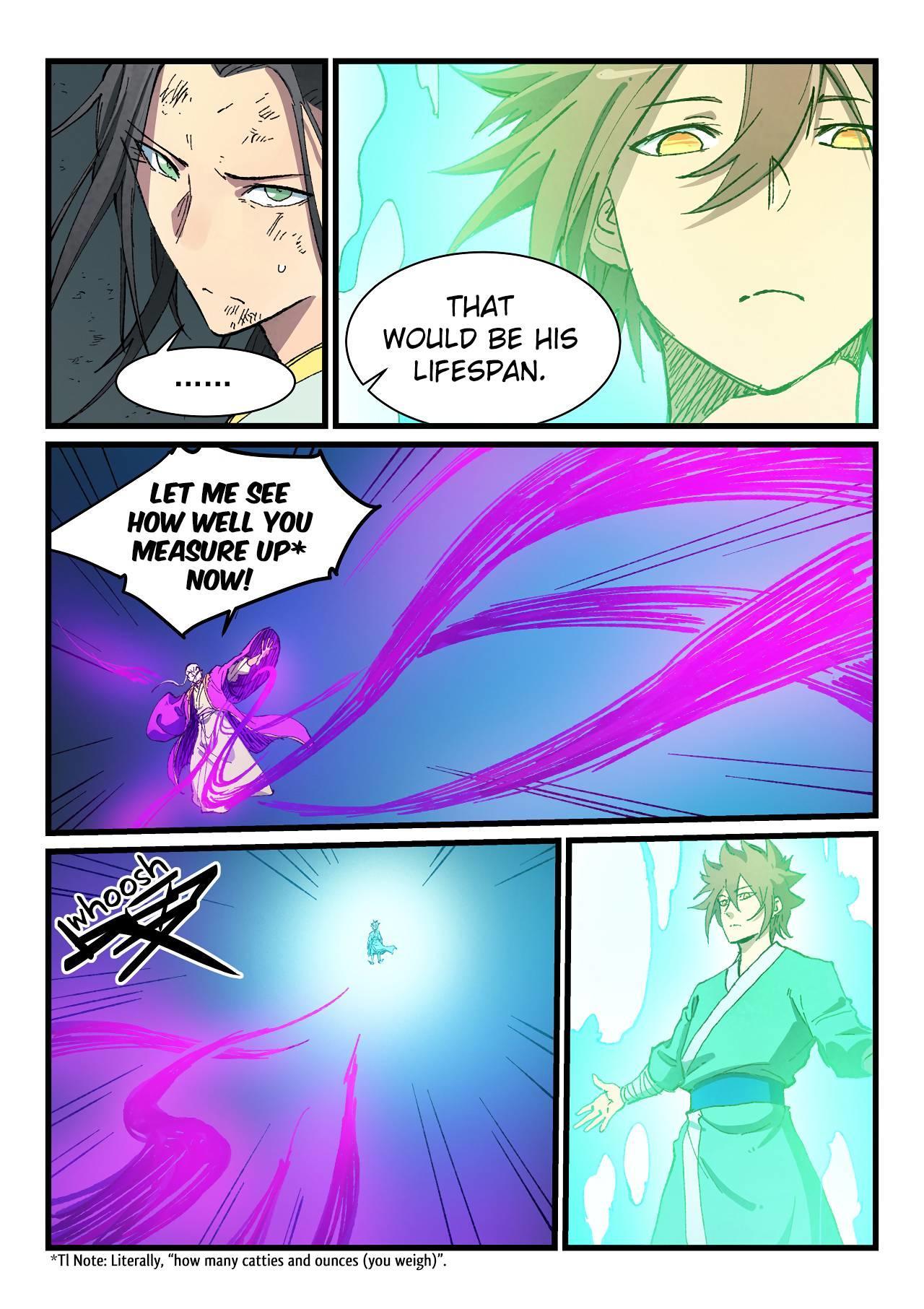 Star Martial God Technique Chapter 426 page 5 - Mangakakalots.com