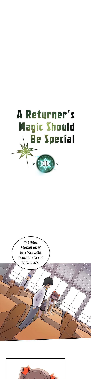 A Returner's Magic Should Be Special Chapter 11 page 2 - Mangakakalots.com