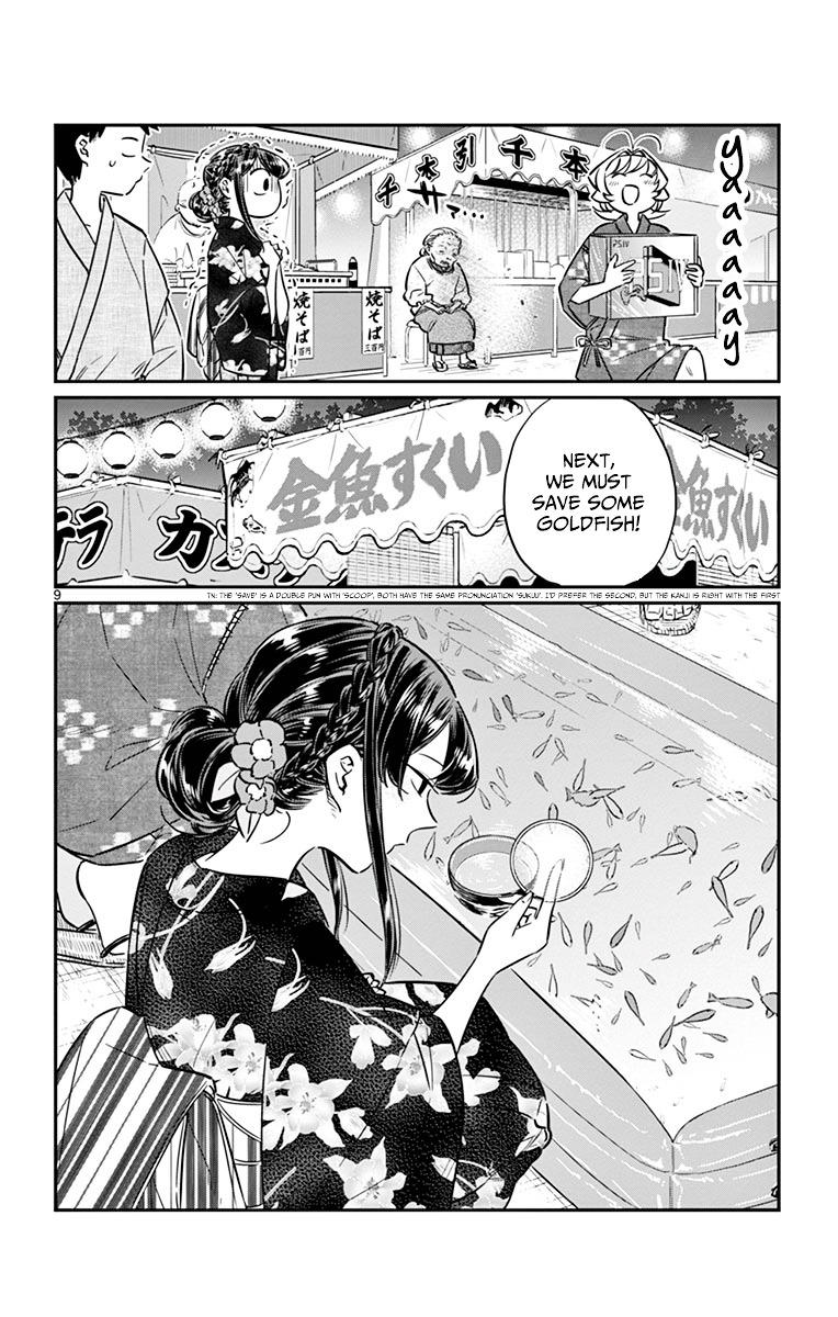 Komi-San Wa Komyushou Desu Vol.3 Chapter 47: Summer Festival 2 page 9 - Mangakakalot