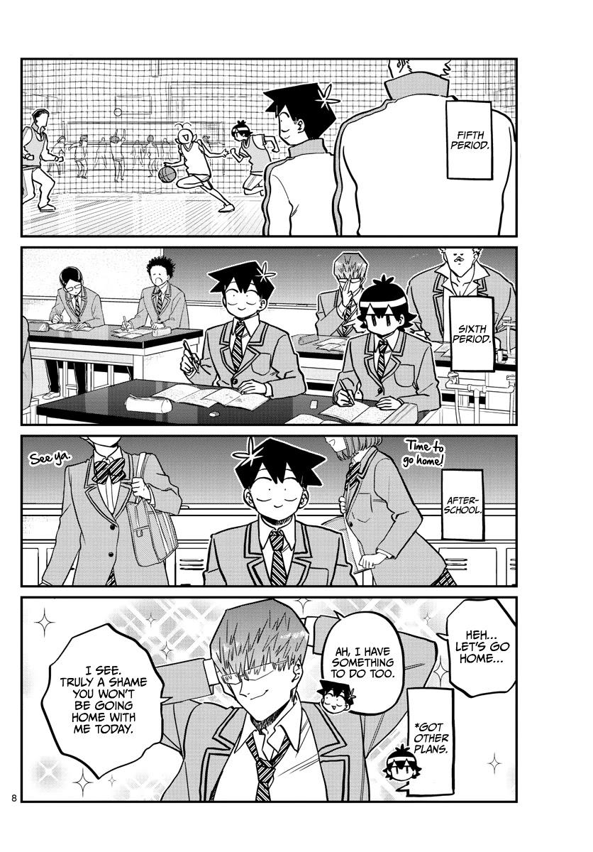 Komi-San Wa Komyushou Desu Chapter 299: Valentine's Day, Second Year Edition page 8 - Mangakakalot