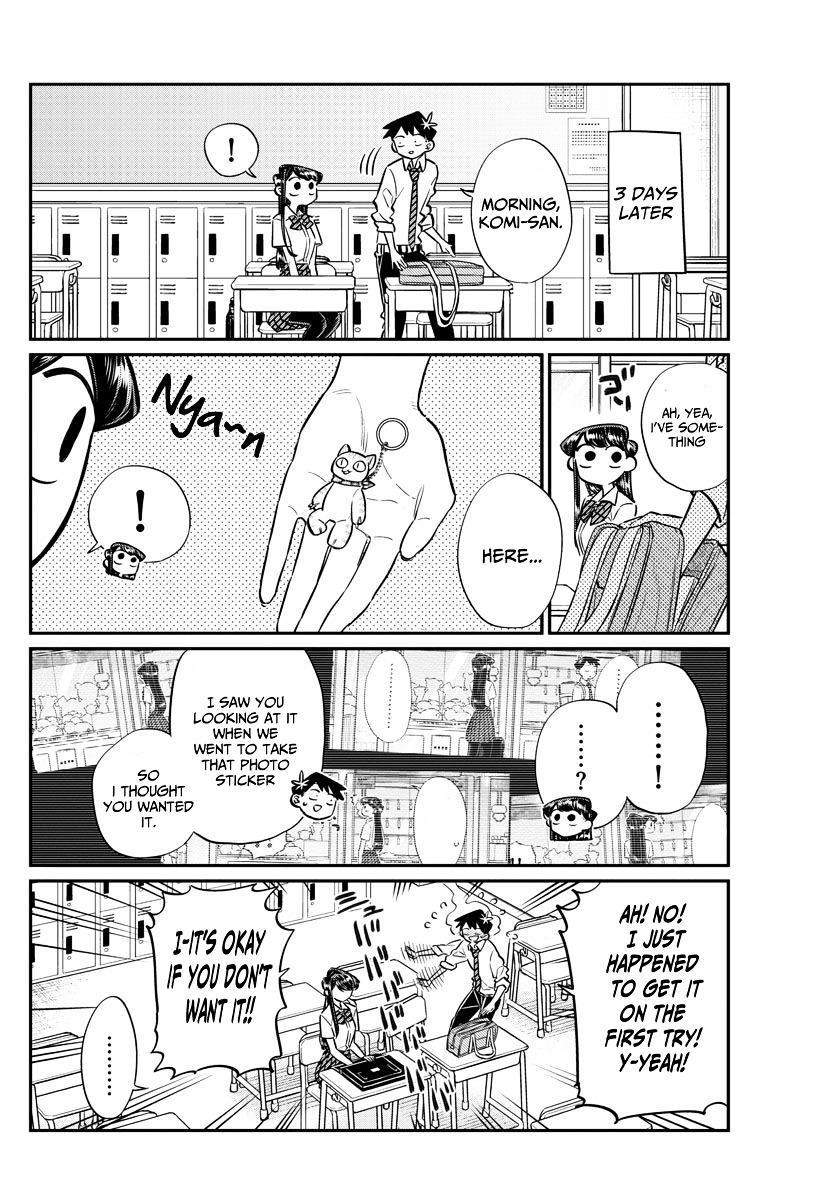 Komi-San Wa Komyushou Desu Vol.4 Chapter 57: Photo Stickers page 16 - Mangakakalot