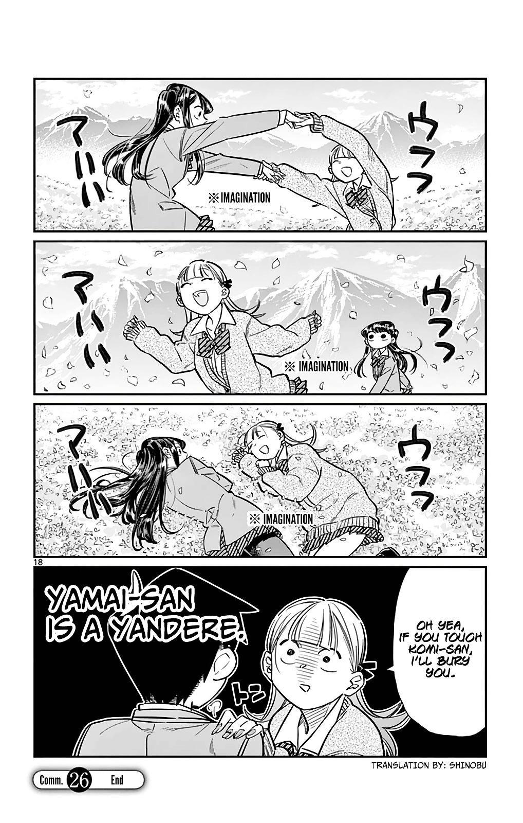 Komi-San Wa Komyushou Desu Vol.2 Chapter 26: I'm Ren! 4 page 18 - Mangakakalot