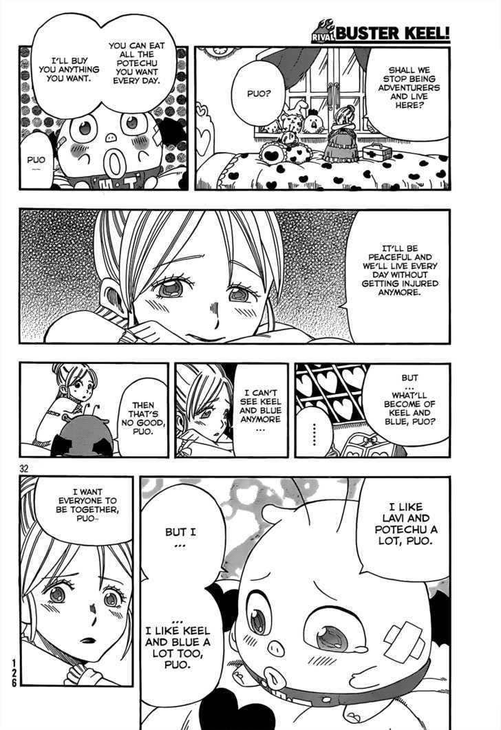 Buster Keel! Vol.2 Chapter 17 : Songbird Dream page 32 - Mangakakalots.com