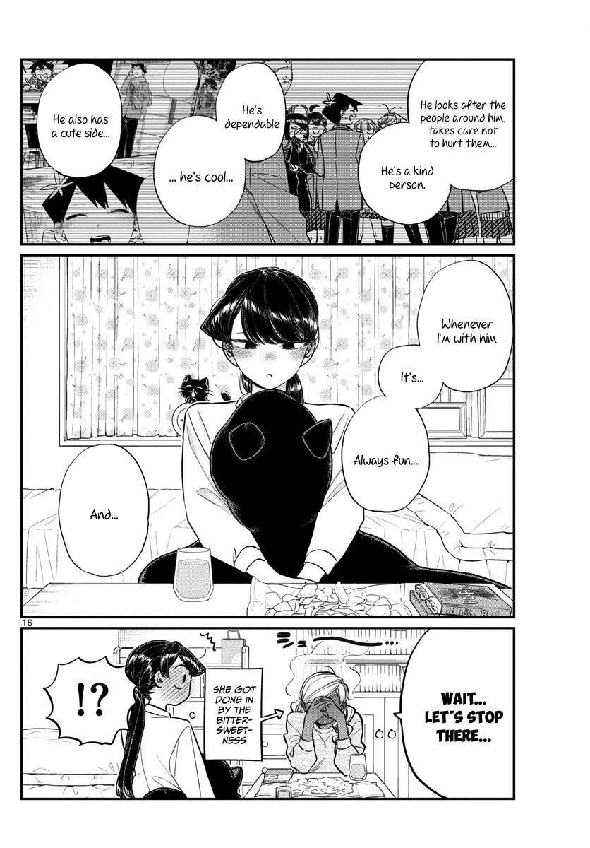 Komi-San Wa Komyushou Desu Vol.10 Chapter 142: A Sleep Over page 16 - Mangakakalot