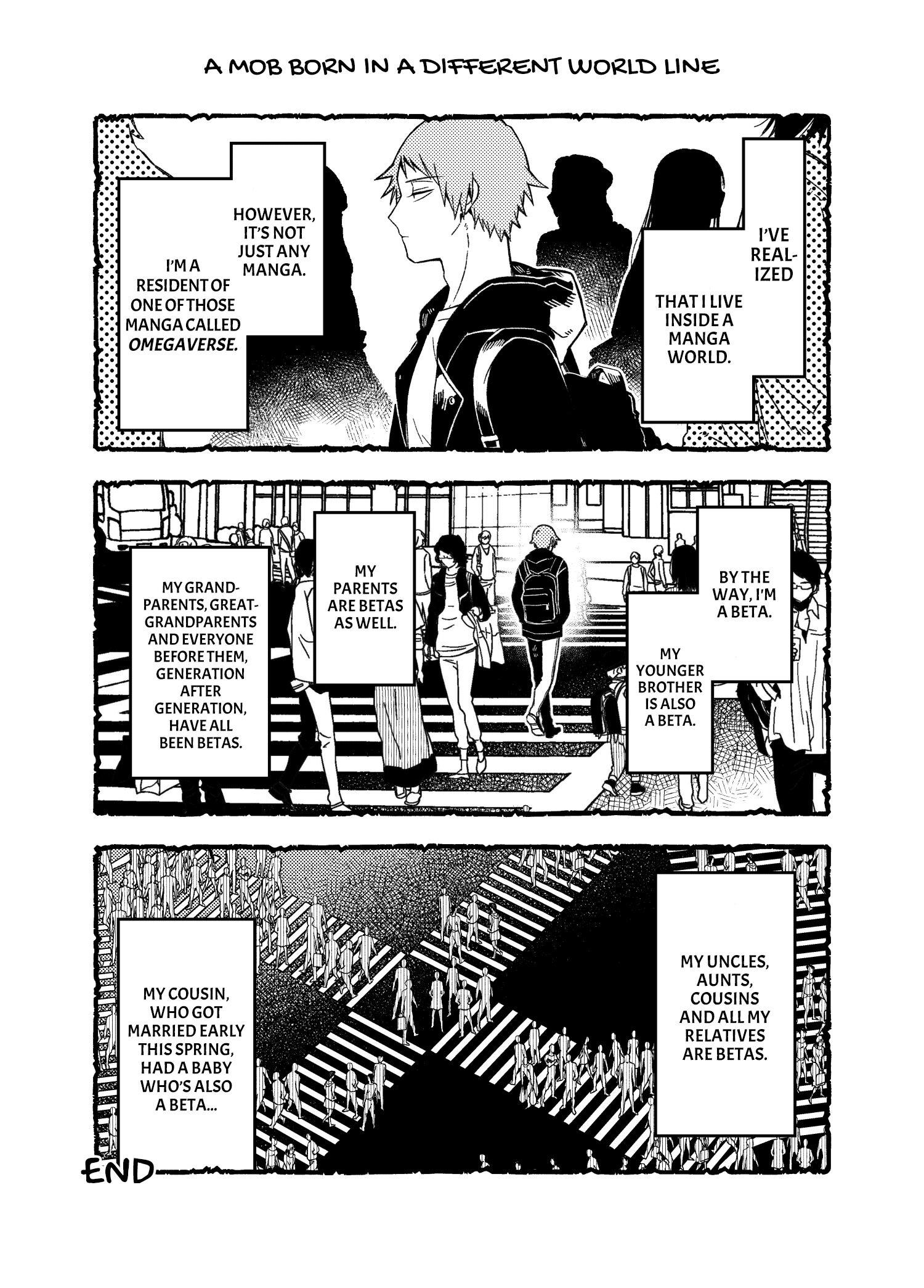 A World Where Everything Definitely Becomes Bl Vs. The Man Who Definitely Doesn't Want To Be In A Bl Volume 2 Chapter 35.6 : Twitter Comics page 17 - Mangakakalots.com