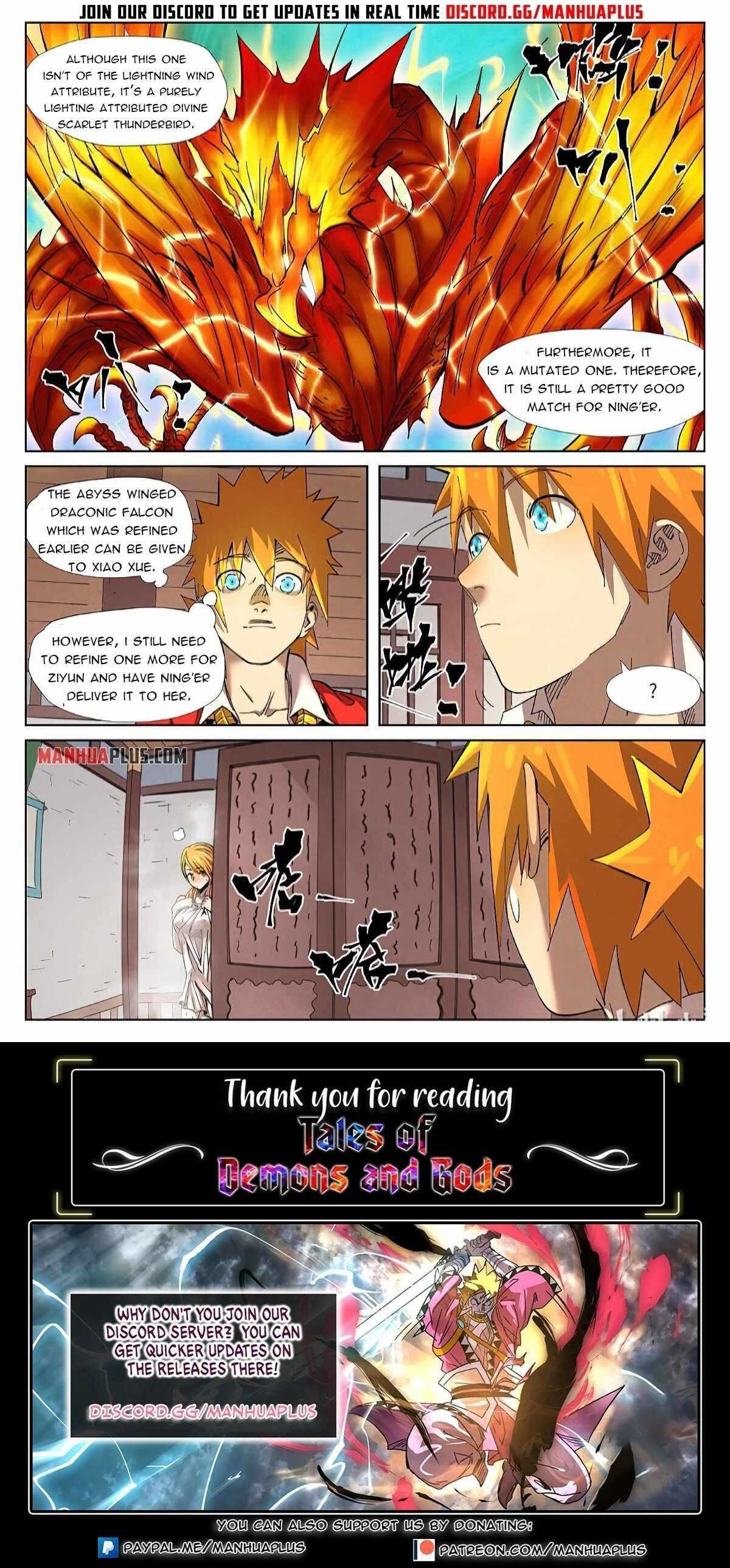 Tales Of Demons And Gods Chapter 343.5 page 10 - Mangakakalot