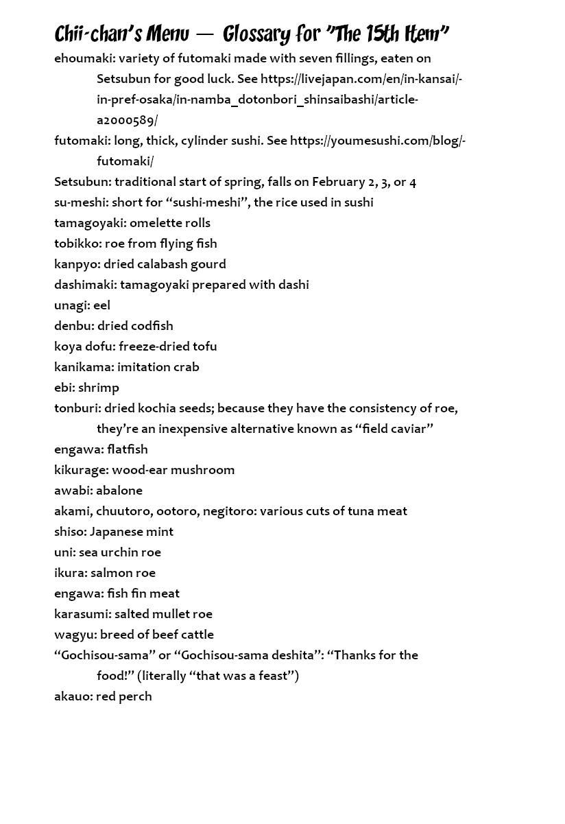 Chii-Chan No Oshinagaki Hanjouki Vol.2 Chapter 8: The 15Th Item: ~Ehoumaki~ ; The 16Th Item: ~Kanpai. Plum Blossom Viewing~ page 11 - Mangakakalots.com
