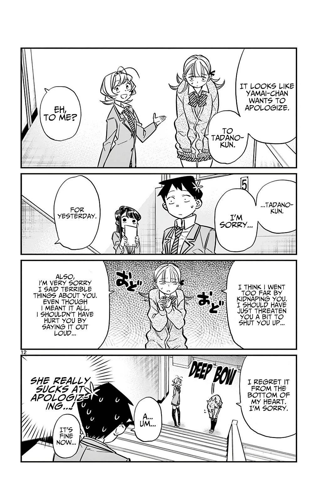 Komi-San Wa Komyushou Desu Vol.2 Chapter 26: I'm Ren! 4 page 12 - Mangakakalot